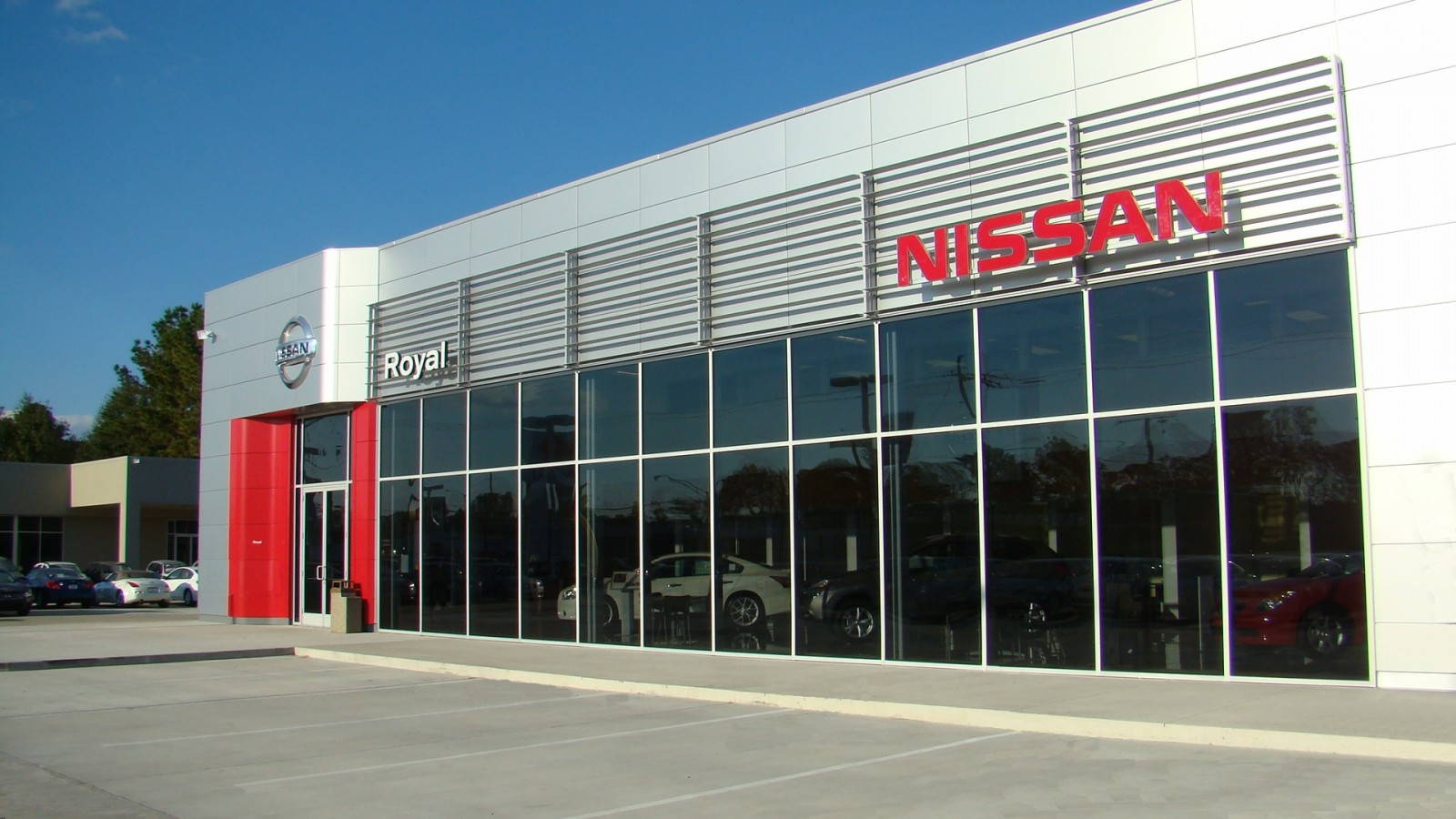 Arkel Constructors built Royal Nissan in Baton Rouge